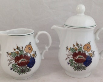 Schonwald, creamer 9390 and one serving teapot 9489