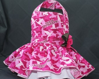 Duck Dynasty Dog Harness Dress