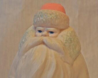 Ded Moroz Santa Claus Soviet Vintage Large Plastic Doll Toy