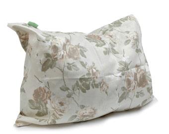 Vinatge roses Cotton Pillow Cover Case, 12 x 16  inch