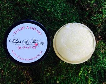 Tulip Scented Lip Scrub- TULIP A GO-GO