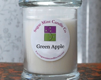 Green Apple Soy Candle - 8 oz