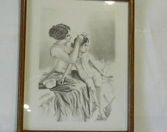 Original Artwork Drawing