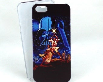 StarWars inspired case for iPhone 5/5s/5se - Star Wars - Classic Vintage Movie Poster