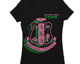 Alpha Kappa Alpha Beautiful Since...