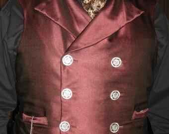 Men's Steampunk waistcoat