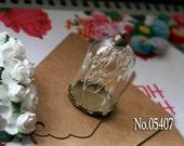 HOT No.V05407_06179 Tube vials necklace pendant -25mm opening bronze cap, glass bottle, vials necklace settings