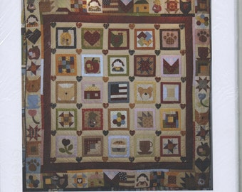 Mystery Quilt 1