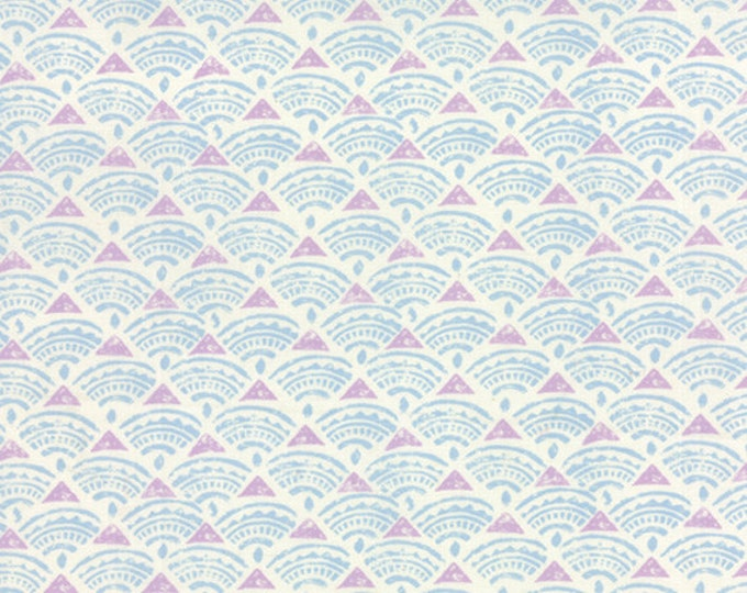 1/4 Yard REMNANT Horizon - Tide in Slate Blue - Cotton Quilt Fabric - designed by Kate Spain for Moda Fabrics - 27197-16 (W2318)