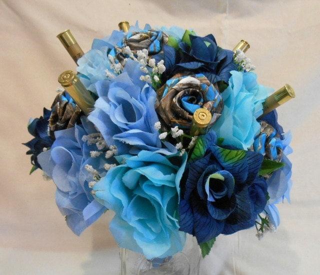 Wedding bouquet bridal bouquet camo wedding by bouquetsbykeepsakes
