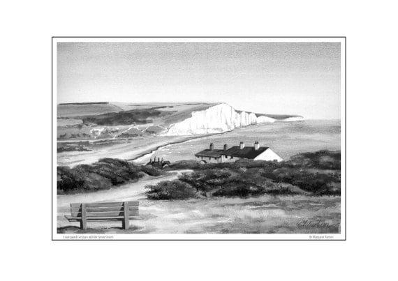 Coastguard Cottages & Seven Sisters