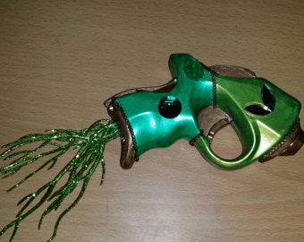 Steampunk Tinker Bell inspired custom painted nerf gun (non-firing)