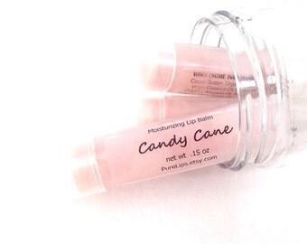 Candy Cane Lip Balm. Triple Butter Lip Balm. Vegan