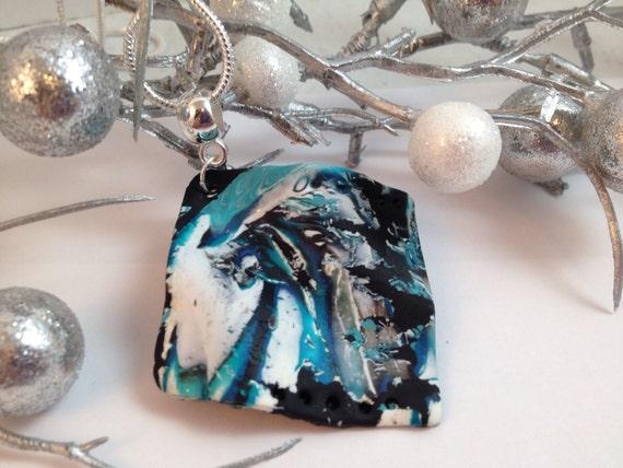 handmade pendant, ooak pendant, by felicianation