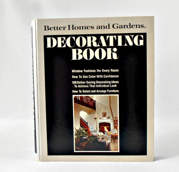 1970 39 S Decor Better Homes And Gardens Decorating Book