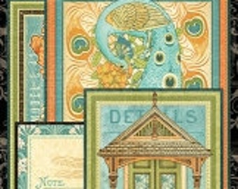 Graphic 45 Artisan Collection Chipboard #1