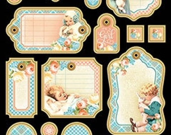 Graphic 45 Precious Memories Collection Chipboard #2