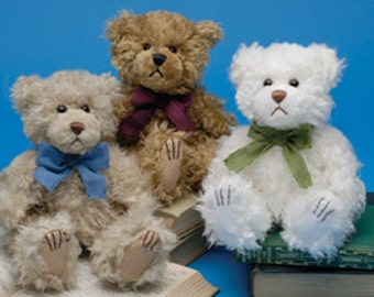 Small Teddy Bears Dipped in Scented Wax - 6 inch