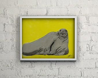 Seal Kisses *INSTANT DOWNLOAD*