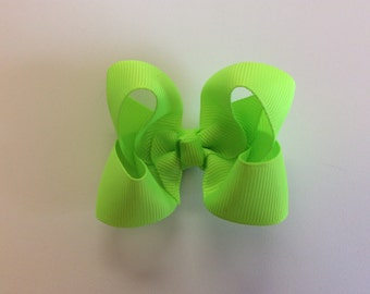 Key Lime Small Boutique Bow