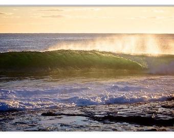 Surf Photos, Beach Photos Australia, Surf Photography, Wave Photography, Wave break prints, Surf Prints, Beach Prints, Morning Beach Prints