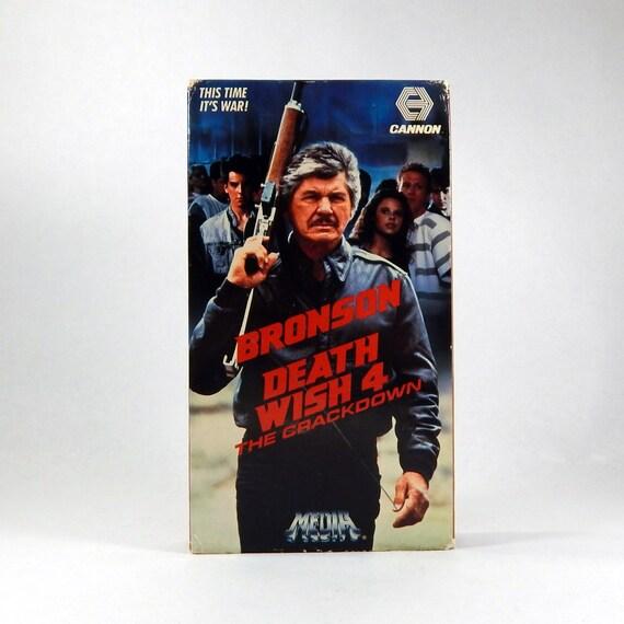 Bronson Death Wish 4 Death Wish 4 Vhs Action 1988
