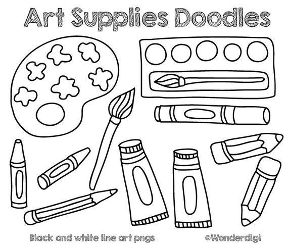art supplies clip art - photo #40