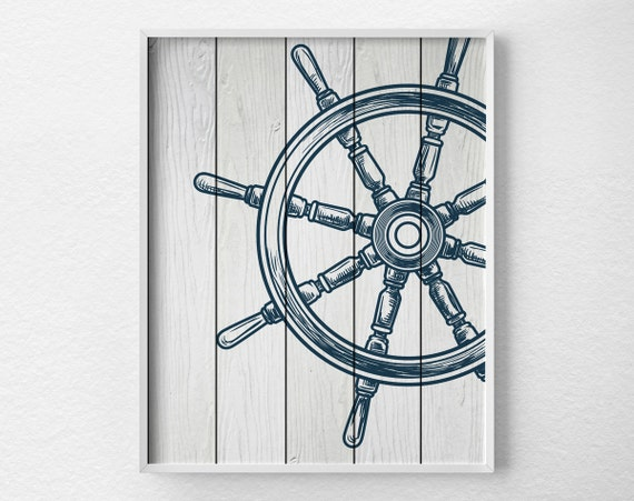For Nautical Bathroom Art