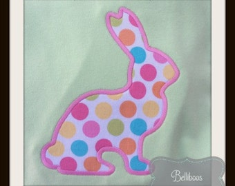 Bunny Applique Design - Bunny Embroidery Design - Rabbit Applique Design - Spring Applique Design - Easter Applique Design - Animal Applique