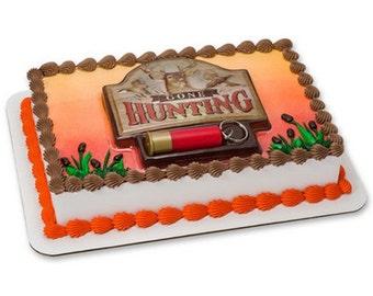 Hunting cake topper Etsy