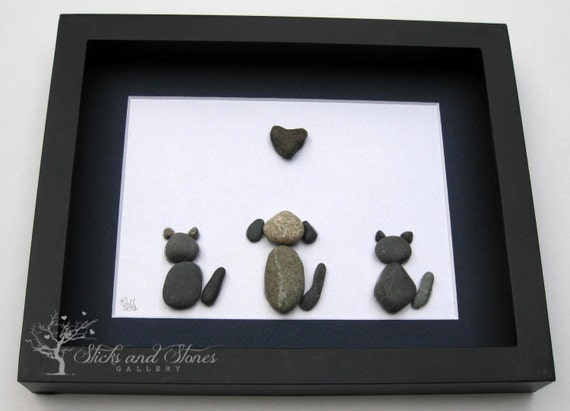 Reserved for Rm Animal Lover Gifts Animal by SticksnStone