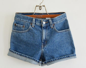Perfect Vintage Levi's Denim Short Shorts Levi's Cut Off Shorts