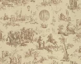 Bon Voyage - Toile Oyster 1/2yd