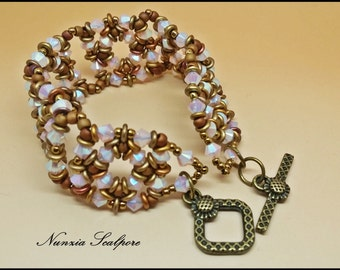 """""""MELANKOLIA"""" bracelet pattern"""