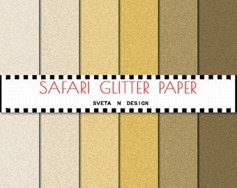 Glitter Digital Paper Pastel Pattern Background Texture Overlay - Instant Download -  Safari Glitter