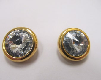 Erwin Pearl Crystal Earrings Item W-#97