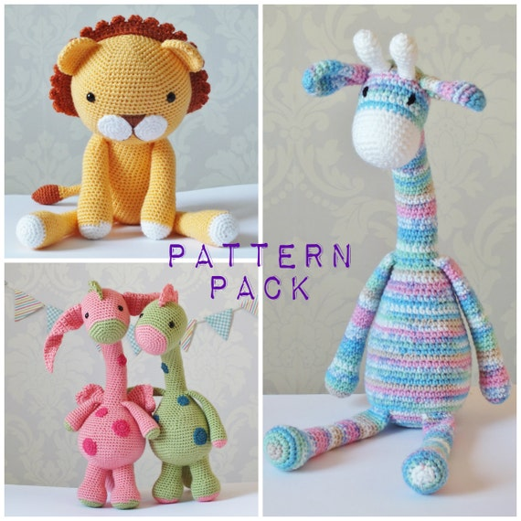 Amigurumi Yarn Pack : Crochet Amigurumi PATTERN PACK PDF Downloads Limited Amount