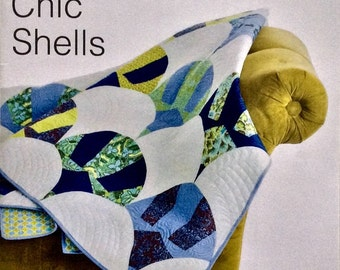 Chic Shells Quilt Pattern - Sew Kind of Wonderful - SKW 410 - QCR Pattern
