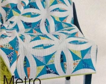 Metro Lattice Quilt Pattern - Sew Kind of Wonderful - SKW 404 - QCR Pattern