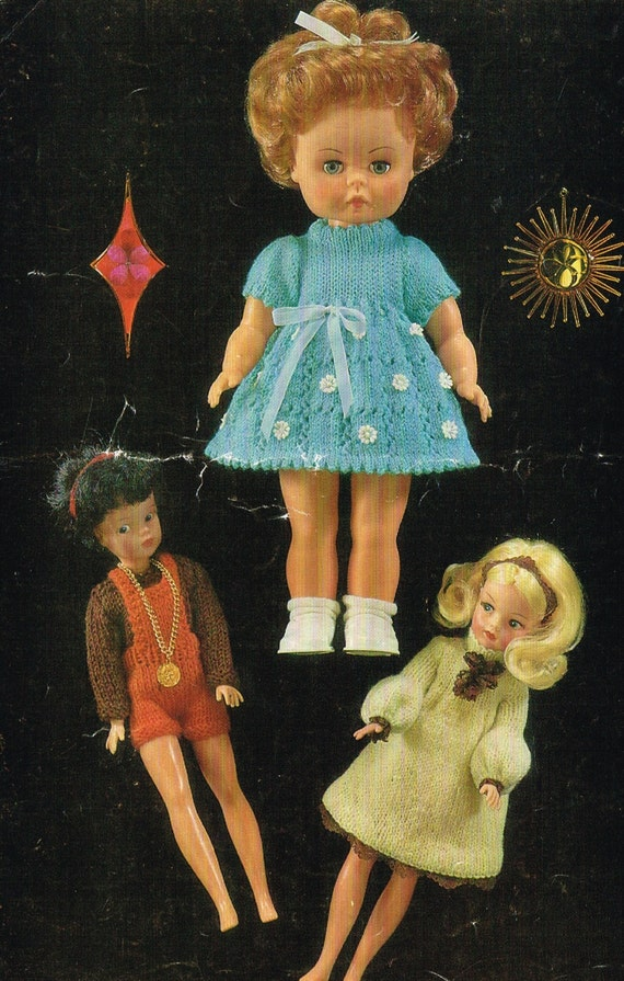 Knitting Patterns For Teenage Dolls : 12 teenage & 14 Baby Dolls clothes knitting