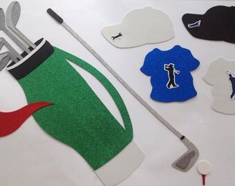 Golf  Photo booth props