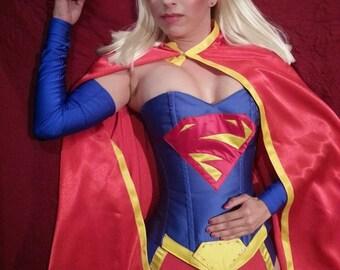 52 supergirl corset costume