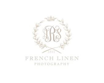 Pre-made Logo Design & Watermark - French Linen