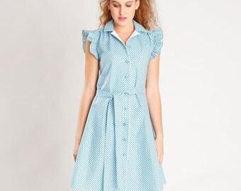 Sandwiches pattern dress and blouse Franzi
