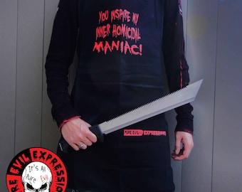 You inspire my inner Homicidal Maniac! Apron - 100% cotton