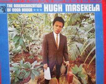 Hugh Masekela - The Amercanization of Ooga Booga - Live- vinyl record