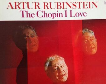 Artur Rubinstein - The Chopin I Love - vinyl record