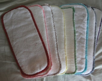 Cloth Nappy Bamboo Booster/Insert/Absorbent/Doubler Green