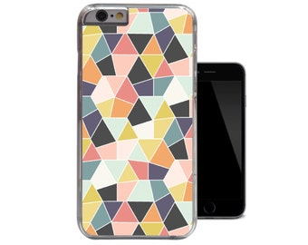 Multi Colour Geometric iPhone Case For - iPhone 4 4s case / iPhone 5 5s case / iPhone 5c case / iPhone 6 case (A171)