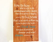 Religious Wood Sign, Pallet Wall Art, Reclaimed Wood Sign, Biblical Quote Sign, Custom Wood Sign, Custom Quote Sign, Wood Pallet Sign
